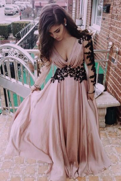 Long Bridesmaids Dresses,Bridesmaids Dresses,2017 Bridesmaid Dresses,Chiffon Bridesmaid Dress,Cheap Bridesmaid Dresses
